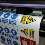 Vinilo brillo impresión digital