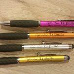 Tampografía en bolígrafos